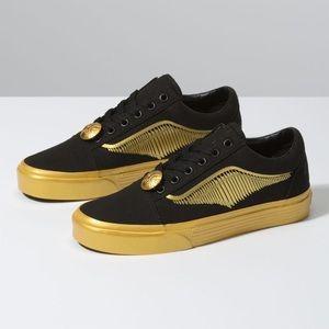 Harry Potter Golden Snitch Vans Sneakers 7